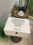 VERY LARGE Personalised BROTHER Keepsake Bereavement Box Memorial ANY NAME - 333332570217